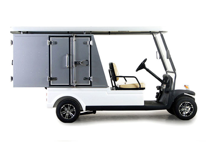 Custom Motorized Utility Golf Carts , Street Legal Electric Carts With 5 Horsepower Motor